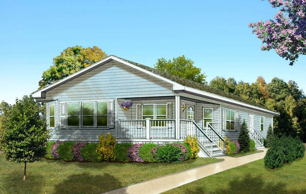 The Evergreen home design - 2 bdr / 2 btw