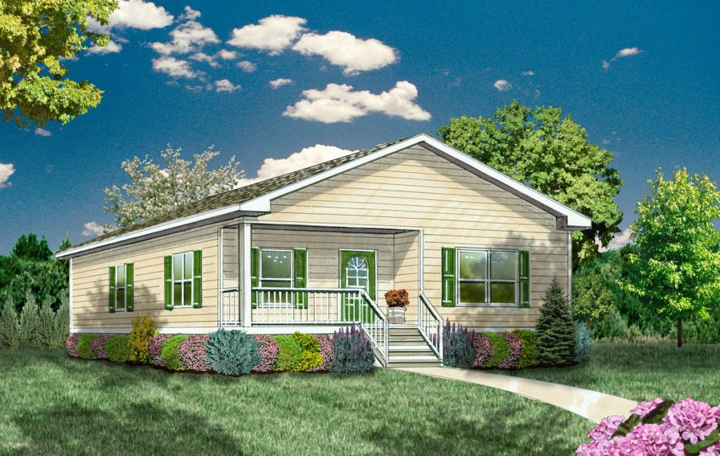 The Meadow home design - 2 bdr / 2 btw