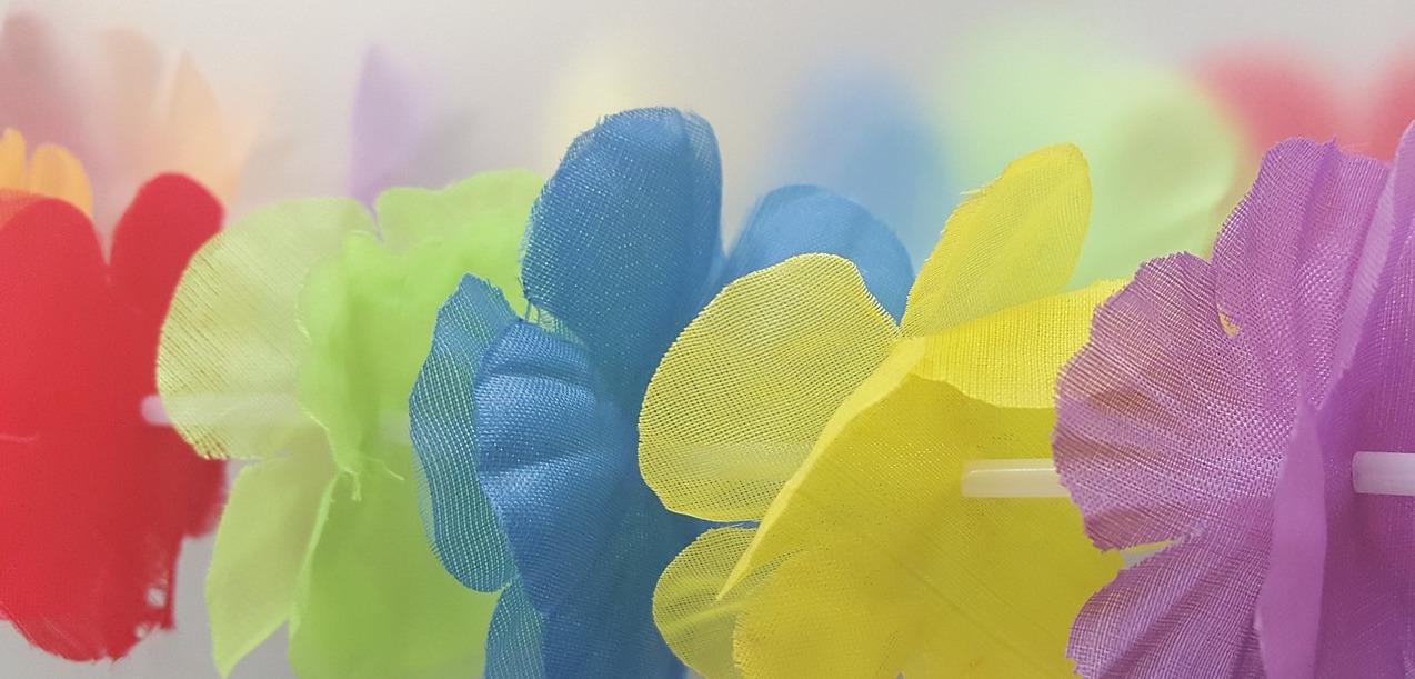 Lei Flowers Hawaiian Luau