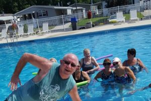 water aerobics crew of Summerfields West