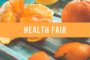 Health Fair on Monday