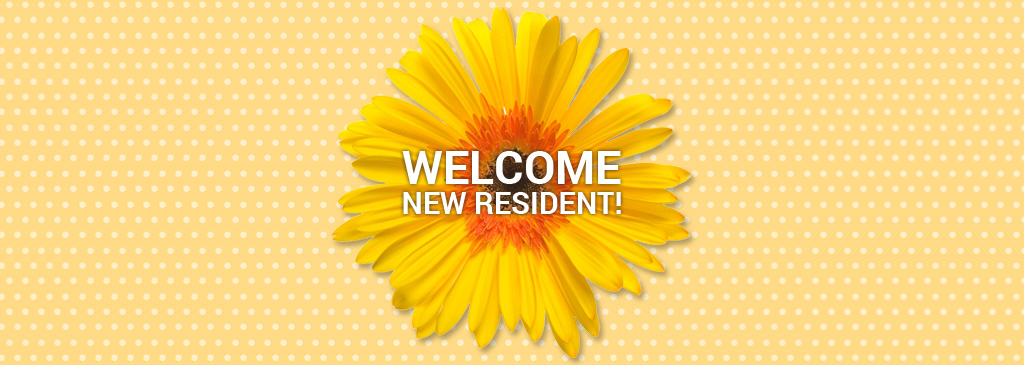 welcome new residents at Summerfields West 55+ community in NJ