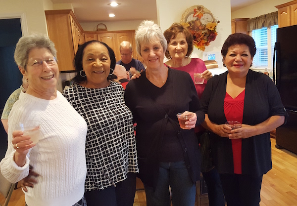 SFW residents get together