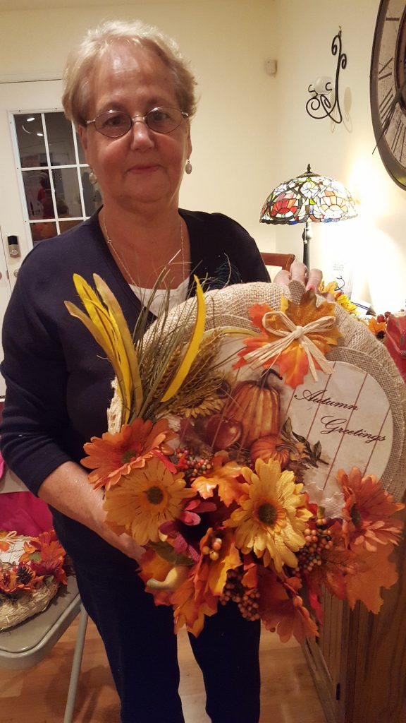 Fall Crafts Wreath Autumn Greetings