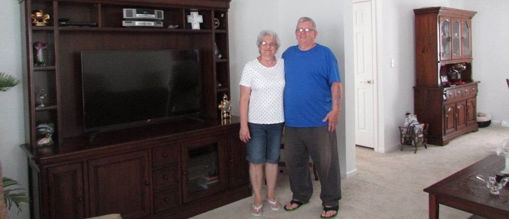 testimonial from the recent retirees, the Weissmans