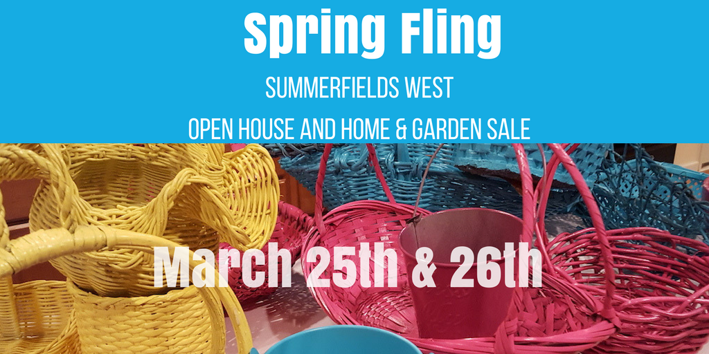 Spring Fling Open House and Home & Garden Sale March 25th & 26th