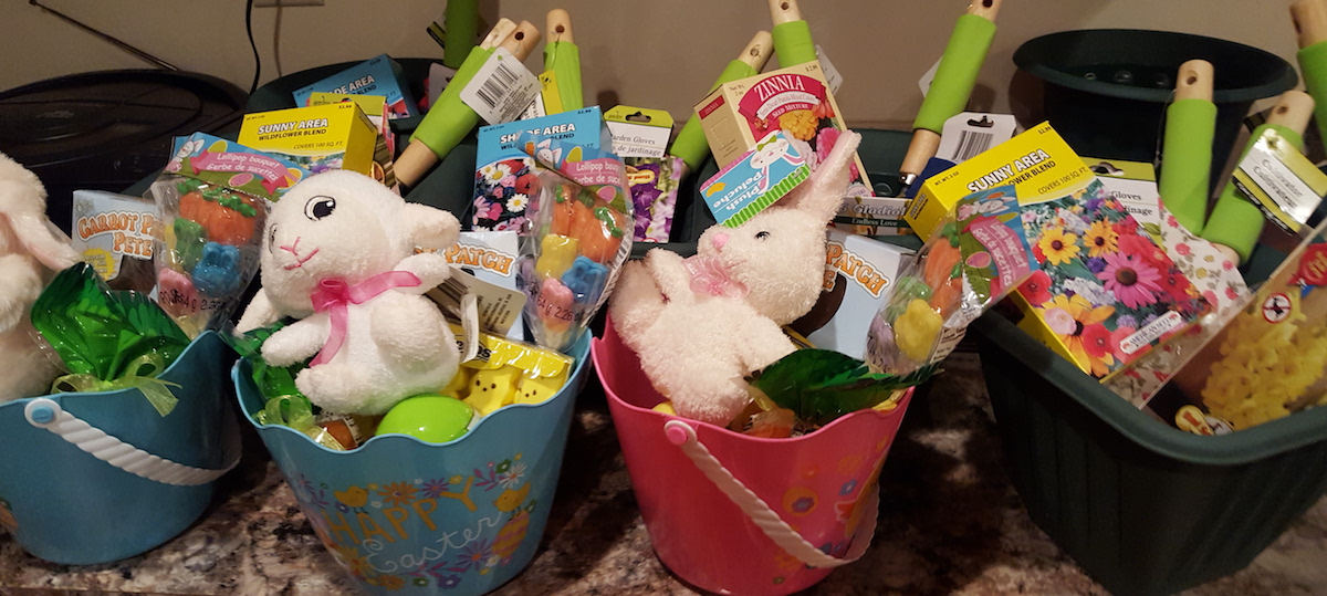 Pre-made Easter Baskets