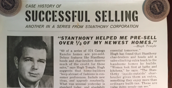 Temple Companies Case History of Successful Selling