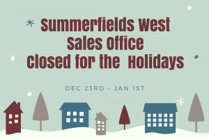 Closed for the holidays 2017