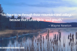 mountains valleys soul growth Wayne Newton