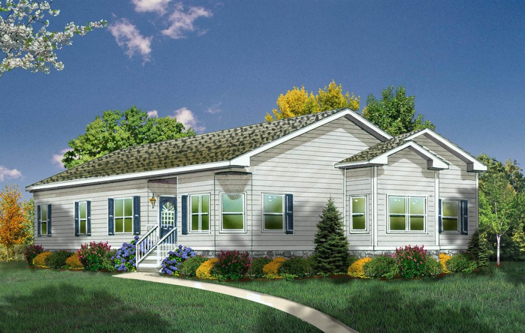 Brook manufactured home model rendering