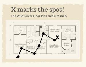 wildflower treasure map