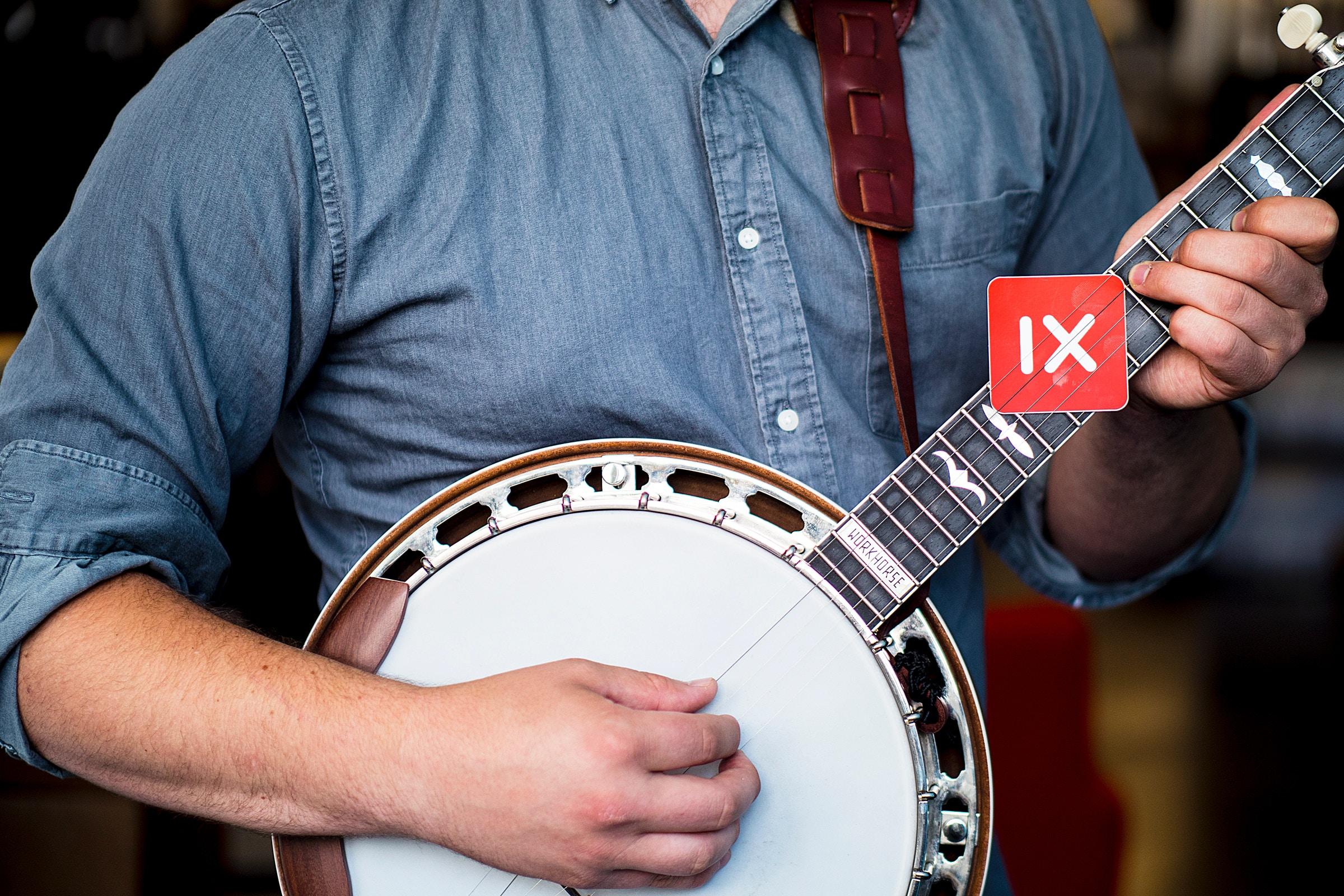 Blue Grass Concert Banjo Player