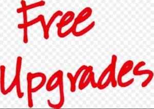 Free Upgrades