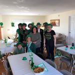 Neighbors at St Pattys Day Party