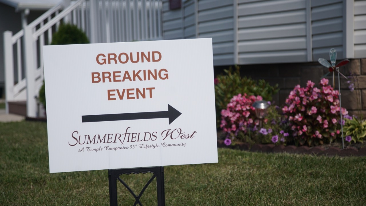 Ground Breaking Event summerfields west 55+