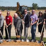 Brian Temple and the Mayor Breaking Ground summerfields west active adult