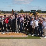 Summerfields West Residents Breaking Ground. active adults